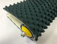 9.5mm墨綠色PVC鋸齒紋