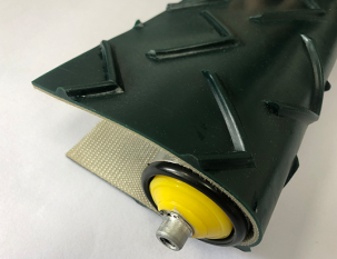 7.5mm墨綠色V字紋