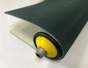 3.5mm墨綠色PVC小圓點紋