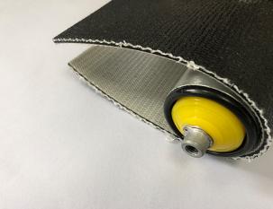 3.5mm黑色布紋PVK帶