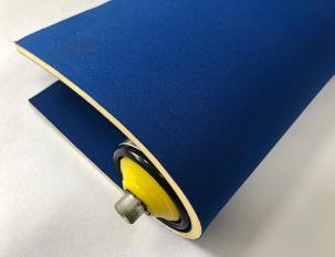 6mm藍色雙面布海綿