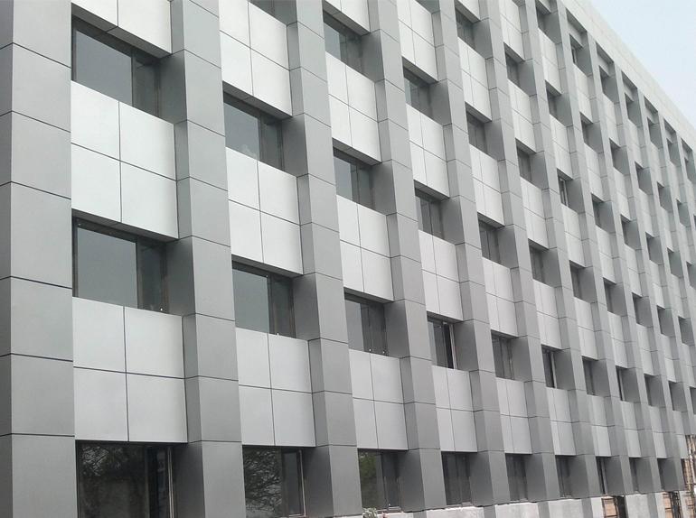 氟碳鋁單板外墻安裝