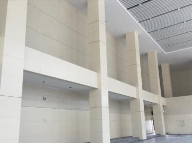 仿石材鋁單板幕墻施工
