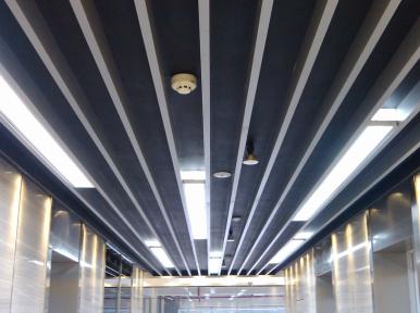 鋁方通吊頂施工