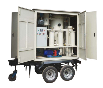 牽引式高效雙級真空濾油機