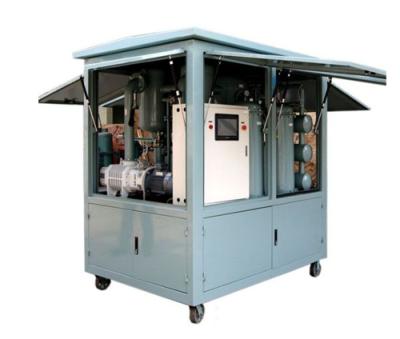 高效雙級真空濾油機