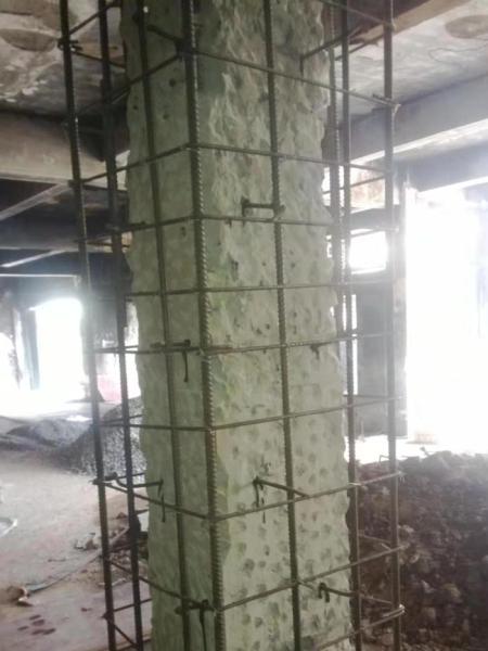 柱子加大截面加固