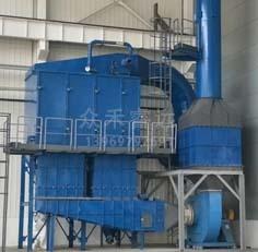 FS系列风机反吹旁插扁袋除尘器