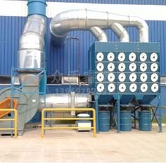HR系列竖插式滤筒除尘器