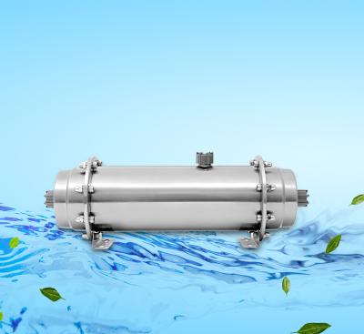 600升高蓋拉絲光油中央凈水器