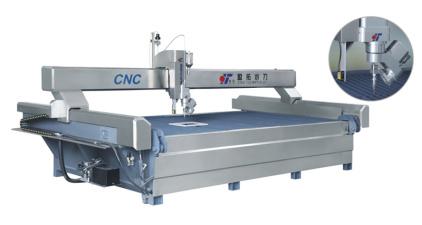 YT系列AC五軸水刀機一專業切割巖板