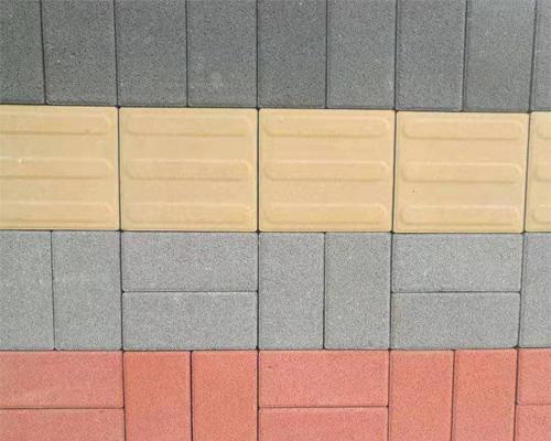 西寧彩磚廠淺談怎么確保彩磚鋪設的質量