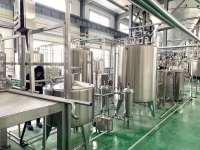 聊城提取液飲料生產線工程案例
