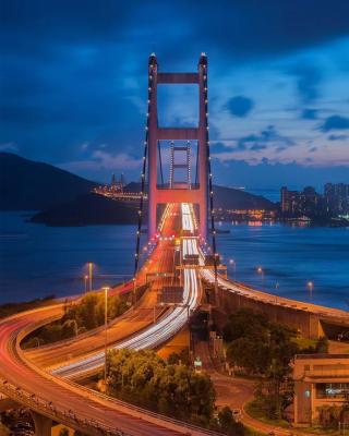 户外亮化厂家-城市桥梁亮化案例