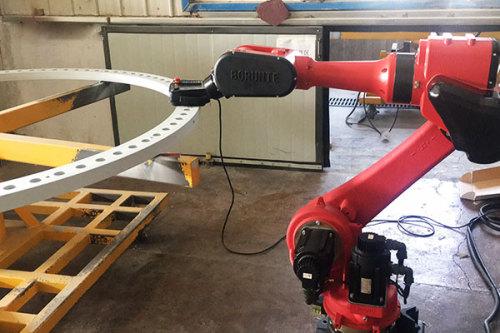 法蘭噴涂機器人