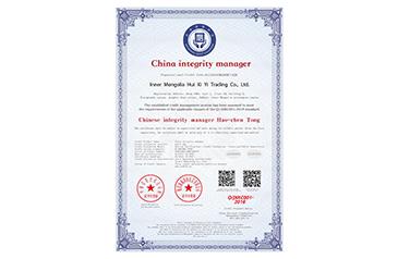通遼中國誠信經理人(英文版)