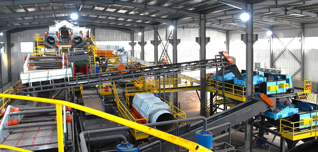 陜西西安爐渣資源化綜合利用中心
