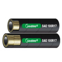 SAE 100R17 緊湊型21Mpa工作壓力1和2層鋼絲增強橡膠液壓軟管