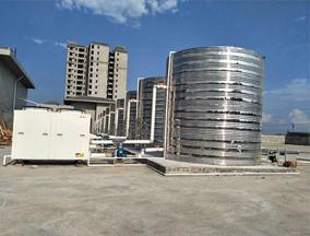 港电集团9台10匹空气能热水工程