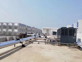 丽豪酒店4台20匹空气能热水工程
