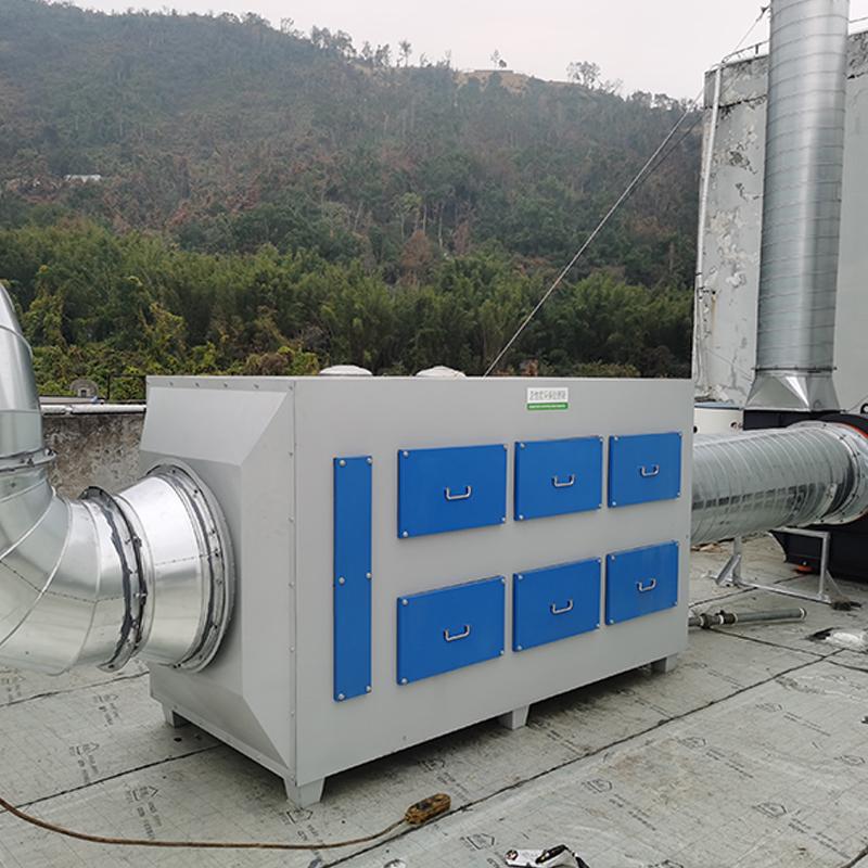 工业油烟净化器的工作原理