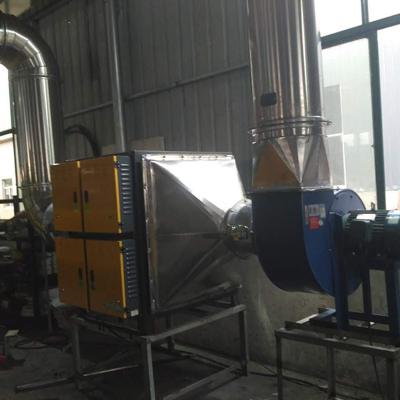 热处理油烟废气处理
