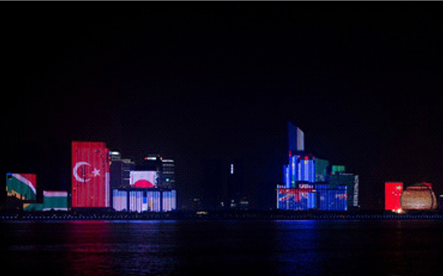 G20峰會主題燈光秀