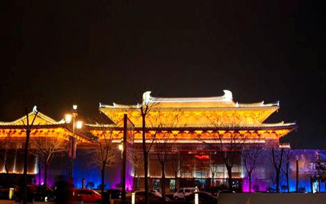 貞觀文化廣場夜景