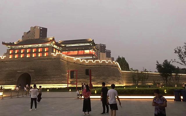 河北廊坊霸州市霸台亮化