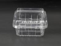 連蓋透明塑料盒