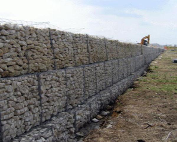 河流格宾石笼挡墙