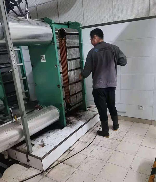 乌兰察布板式换热器清洗