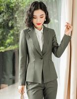 女士都市白领商务修身西装套装83-X811西装+K811裤子
