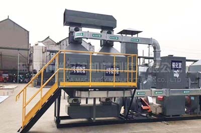 蓄熱式催化凈化RCO設備