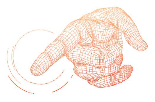 筆觸控與軌跡
