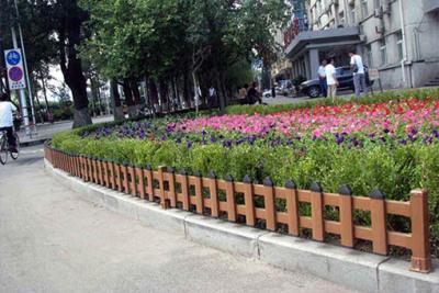 水城草坪綠化護欄