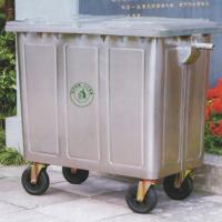 移动钢板垃圾桶