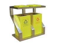 鋼板噴塑果皮箱