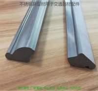 不銹鋼異型材用于交通器材配件