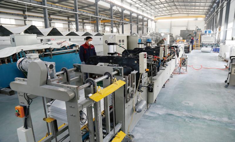 建筑用真空絕熱板自動化生產線