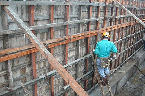 木工作业分包施工
