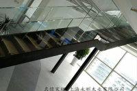 上海攜程網鋼結構樓梯順利完工