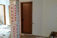 南京紅色木紋複合門