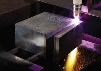 HPR800XD切割大厚度不銹鋼應用