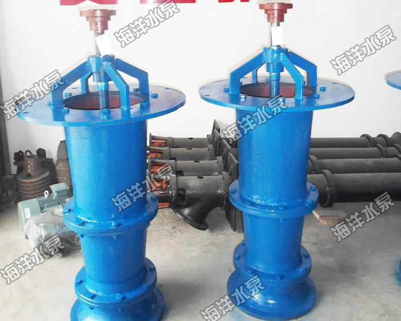 開敞式軸流泵