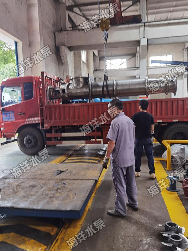 軸流泵發貨