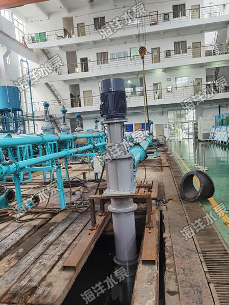 軸流泵測試現場