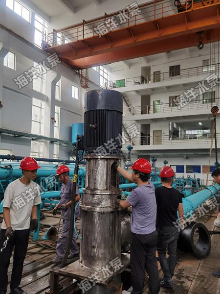 軸流泵安裝調試