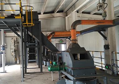 乙炔生产装置程序式的自动上料系统