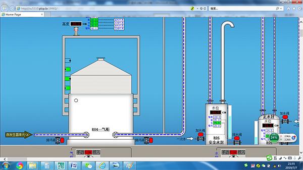 乙炔自动化系统